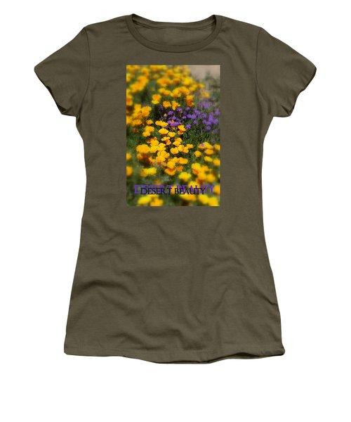 Desert Beauty Women's T-Shirt (Junior Cut) by Carla Parris