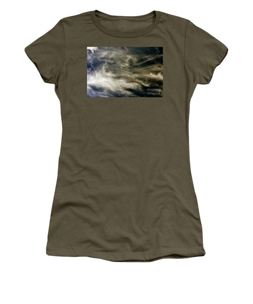 Dirty Clouds Women's T-Shirt (Junior Cut) by Clayton Bruster