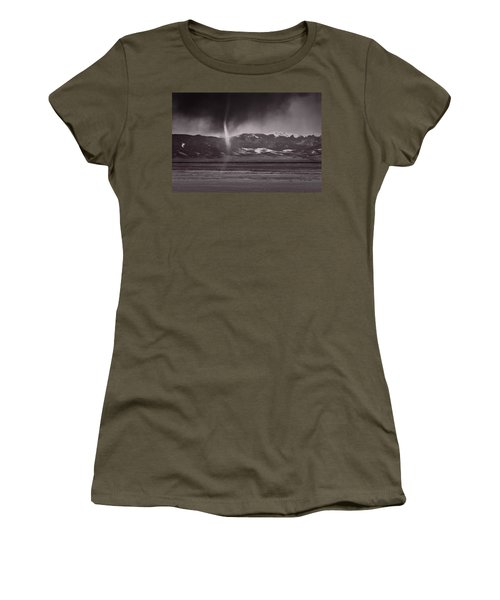 Dust Devil Over San Luis Valley Colorado Women's T-Shirt