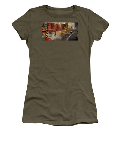 Early Sunday Morning Women's T-Shirt