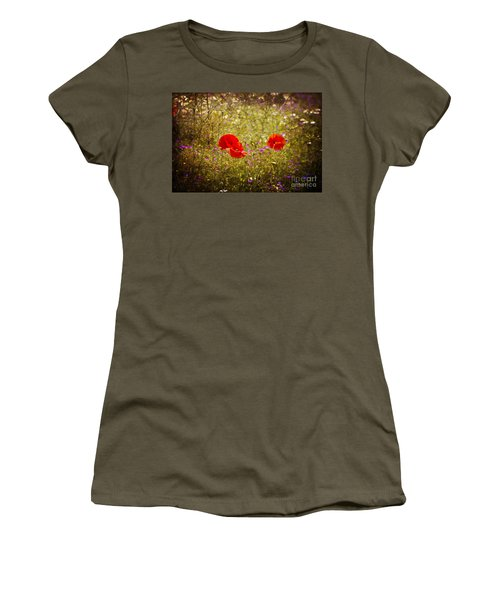 English Summer Meadow. Women's T-Shirt