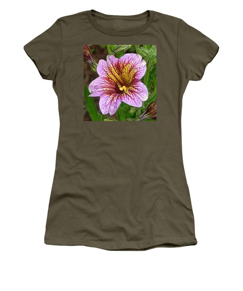 Exploding Beauty Women's T-Shirt (Junior Cut) by Wendy McKennon