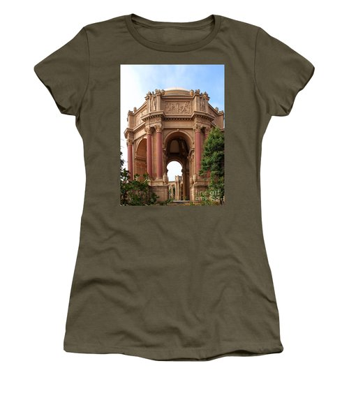 Exploratorium San Francisco Women's T-Shirt (Junior Cut) by Henrik Lehnerer