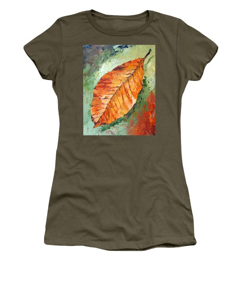 First To Fall Women's T-Shirt (Athletic Fit)