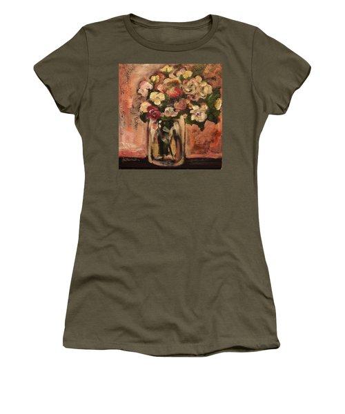 Flowers For Mom Women's T-Shirt