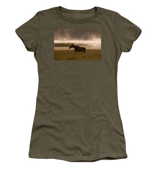 Foggy Stroll Women's T-Shirt