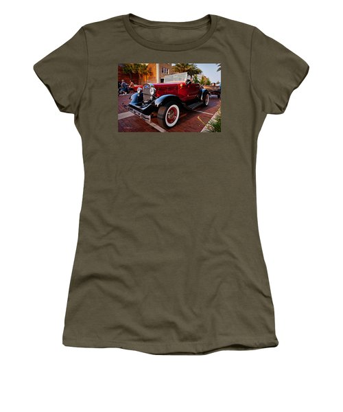 Women's T-Shirt featuring the photograph Ford Roadster by Christopher Holmes
