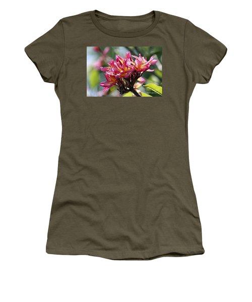 Frangipani Delight Women's T-Shirt
