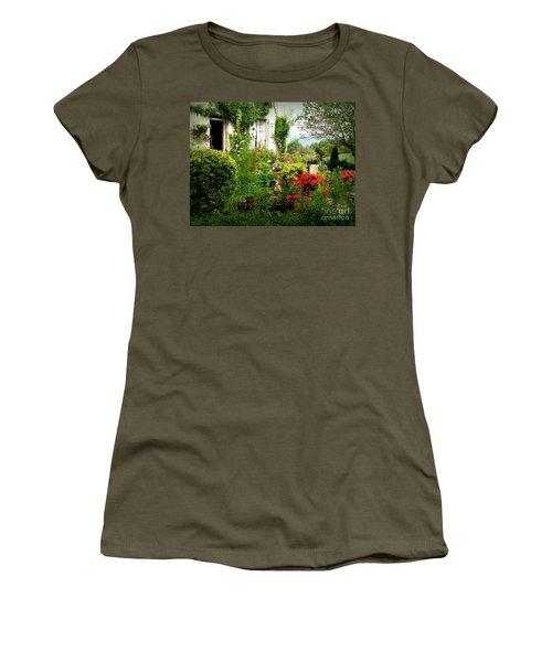 French Cottage Garden Women's T-Shirt