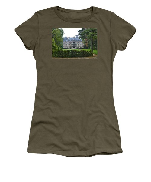 French Country Mansion Women's T-Shirt (Athletic Fit)