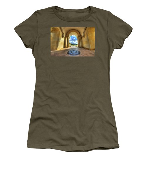 Women's T-Shirt featuring the photograph Gateway To A New Life by David Morefield