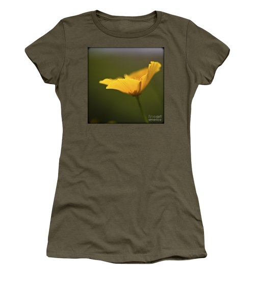 Golden Afternoon. Women's T-Shirt (Athletic Fit)