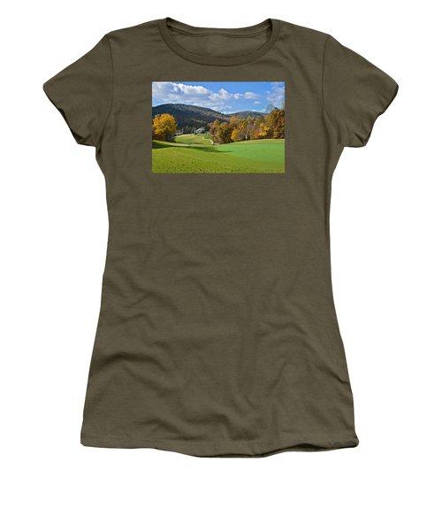 Golf Course In Autumn Women's T-Shirt