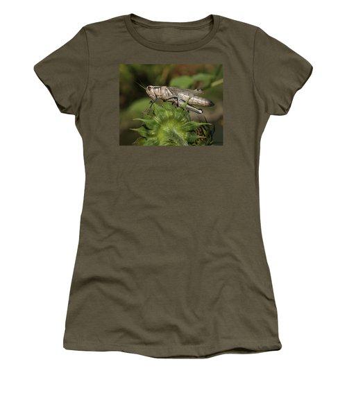 Grasshopper Women's T-Shirt (Athletic Fit)