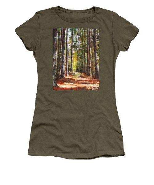 Great Brook Farm Summer Path Women's T-Shirt