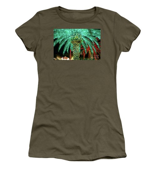 Green Palms Women's T-Shirt (Athletic Fit)