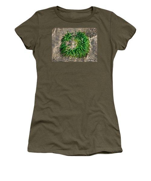 Green Sea Anemone Women's T-Shirt