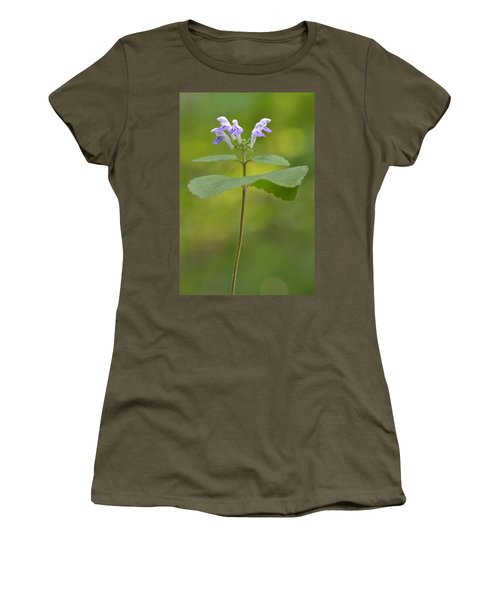Women's T-Shirt (Junior Cut) featuring the photograph Hairy Skullcap II by JD Grimes