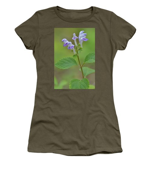 Women's T-Shirt (Junior Cut) featuring the photograph Hairy Skullcap by JD Grimes