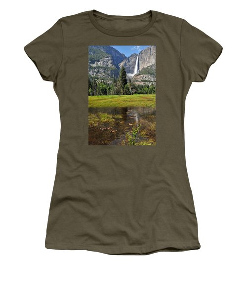 Happy Campers Women's T-Shirt (Junior Cut) by Lynn Bauer