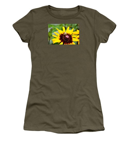 Women's T-Shirt (Junior Cut) featuring the photograph Happy Rudbeckia by Tanya  Searcy