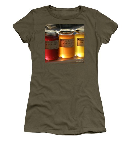 Women's T-Shirt (Junior Cut) featuring the photograph Honey by Lainie Wrightson
