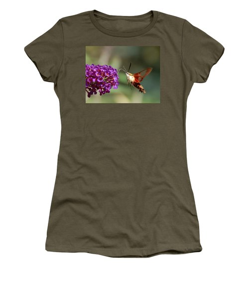 Hummingbird Moth Women's T-Shirt