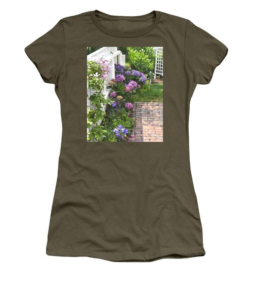 Hydrangeas  Hwc Women's T-Shirt (Athletic Fit)