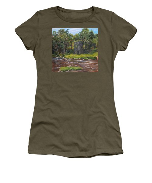 Iron Furnace Of Franconia New Hampshire Women's T-Shirt