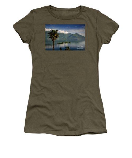 Islands On An Alpine Lake Women's T-Shirt