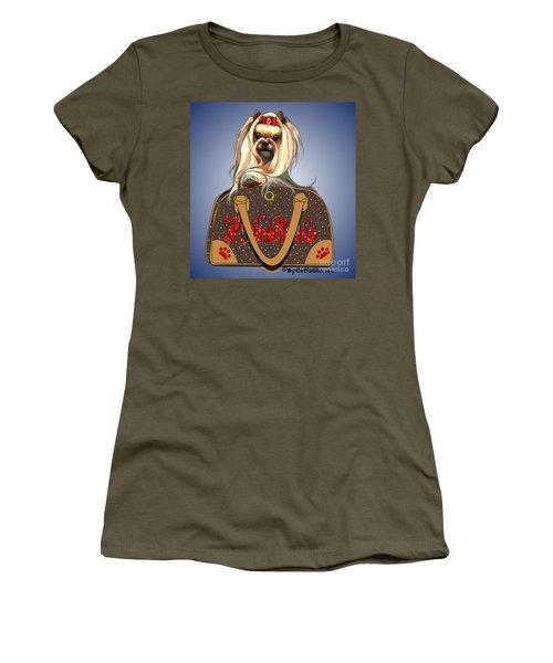 It's A Yorkie In A Bag  Women's T-Shirt