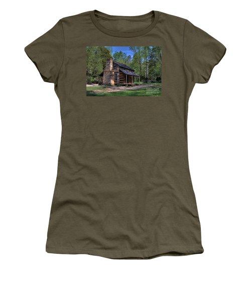 John Oliver Cabin Women's T-Shirt (Athletic Fit)