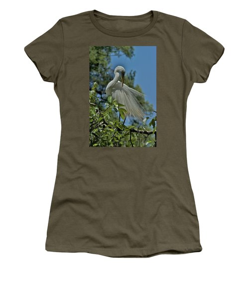 Women's T-Shirt (Junior Cut) featuring the photograph Just So by Joseph Yarbrough
