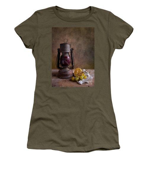 Lamp And Fruits Women's T-Shirt