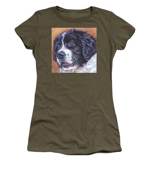Landseer Newfoundland Pup Women's T-Shirt