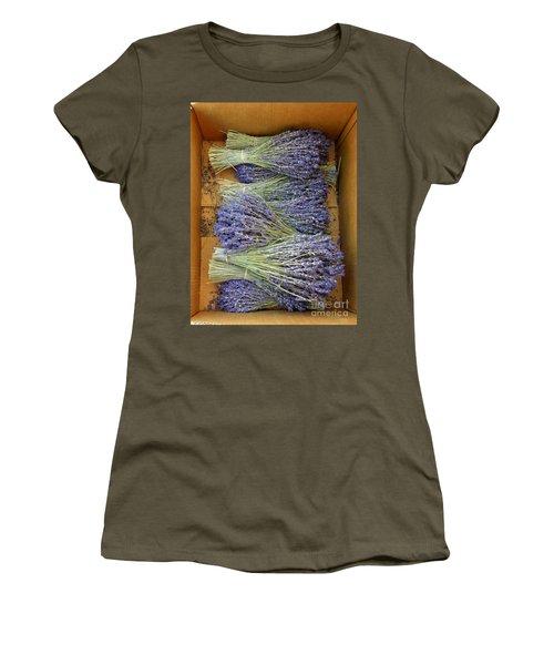 Lavender Bundles Women's T-Shirt (Junior Cut) by Lainie Wrightson