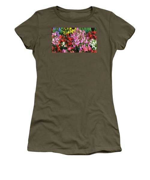 Les Fleurs Women's T-Shirt (Athletic Fit)