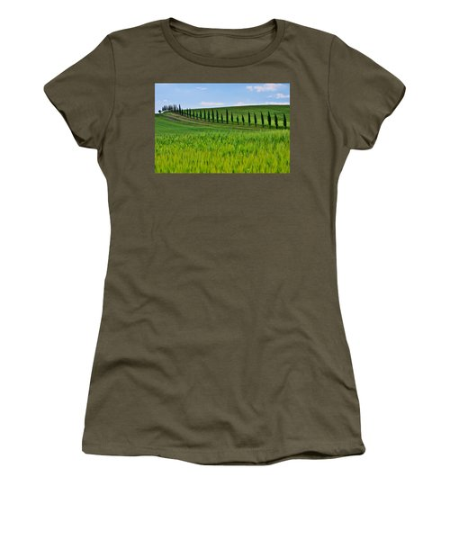 Lined Up Women's T-Shirt