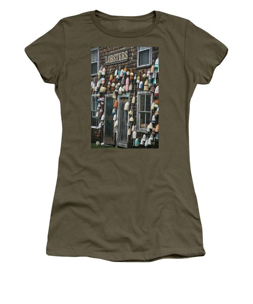 Lobster Buoys Women's T-Shirt