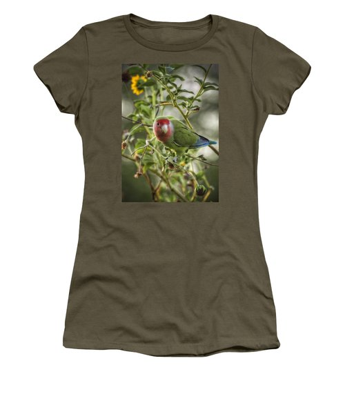 Lovely Little Lovebird Women's T-Shirt (Athletic Fit)