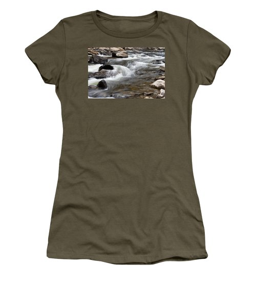 Loyalsock Creek Gentle Rapids Women's T-Shirt