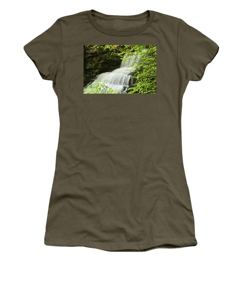 Loyalsock Waterfall Women's T-Shirt