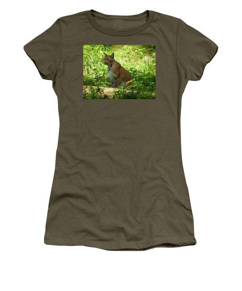 Lynx Women's T-Shirt (Junior Cut) by Jouko Lehto