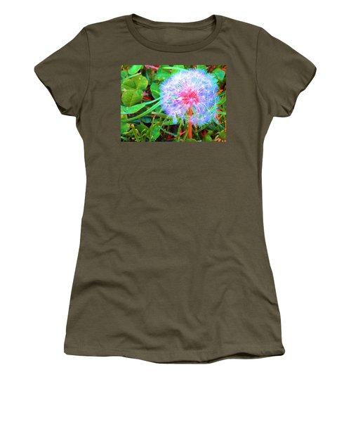 Women's T-Shirt (Junior Cut) featuring the photograph Make A Wish by Susan Carella