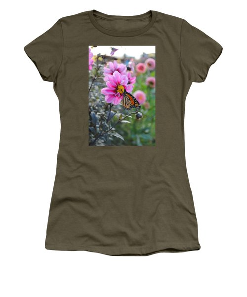 Women's T-Shirt (Junior Cut) featuring the photograph Making Things New by Michael Frank Jr
