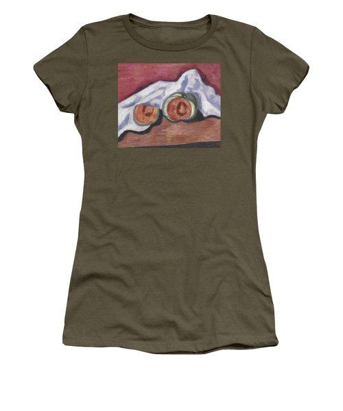 Melons Women's T-Shirt (Junior Cut) by Marsden Hartley