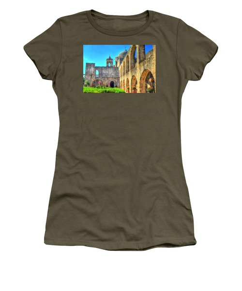 Mission Courtyard Women's T-Shirt