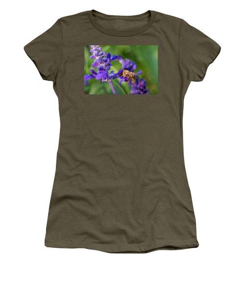 Women's T-Shirt (Junior Cut) featuring the photograph Mmmm Honey by Tom Gort