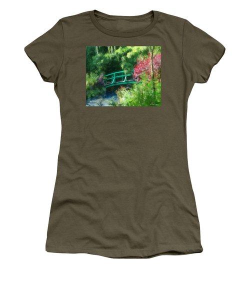 Monet's Garden Women's T-Shirt