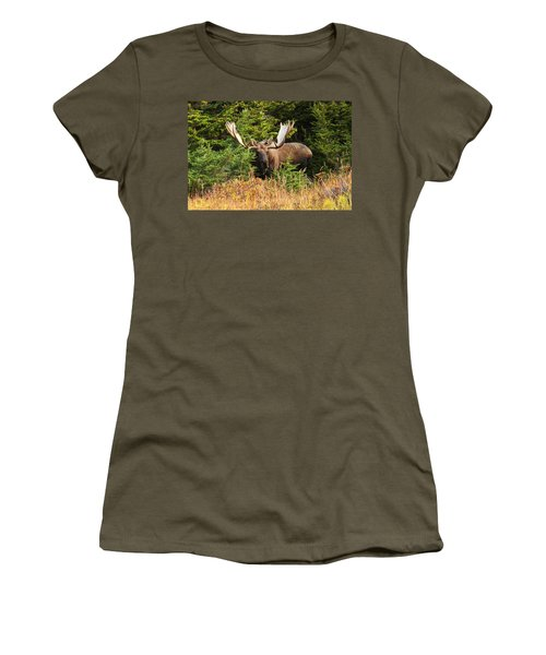 Women's T-Shirt (Junior Cut) featuring the photograph Monster In The Hemlocks by Doug Lloyd